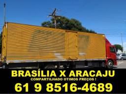 frete Brasília/ Aracaju