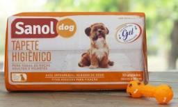 Tapete higiênico Sanol 30 unidades Tamanho 60×80 cm. Ideal para seus Pets!!