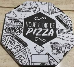 Embalagens de pizza papelão delivery