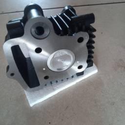 cilindro c/ camisa kit pistão e aneis trax jql 50 gp