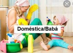 Sou baba e domestica