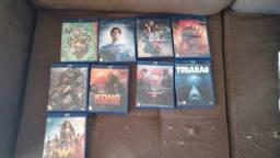 Pack de filmes em bluray