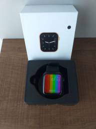 Smartwatch Iwo modelo W26 Lite plus 44 mm (cor Preto)
