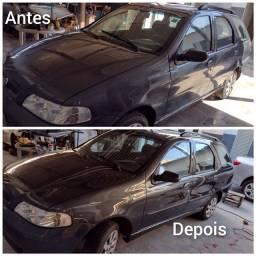 POLIMENTO, HIGIENIZAÇÃO DE BANCOS TETO LOCAL OU A DOMICÍLIO.