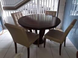 Mesa jantar 4 cadeiras.perfeito estado