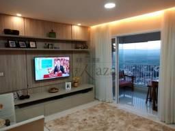Apartamento de 2 quartos - 2 banheiros no Jardim das Indústrias SJC