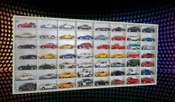 Estante para 56 carros do super