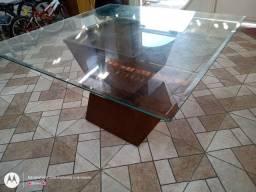Mesa de vidro 1,40x1,40