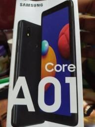 Celular A01 core 4 meses de uso