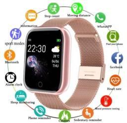 Smartwatch com 2 pulseiras