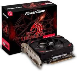 Placa de Vídeo PowerColor AMD Radeon RX550 4GB