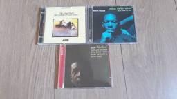 Lote CDs John Coltrane Blue Train Ballads Avant-Garde