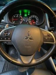L200 Triton Hpe sport  diesel 2.4 completa + automático+couro