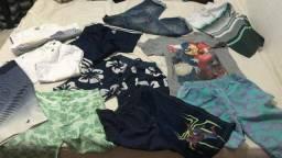 11 peças  de roupas masculina