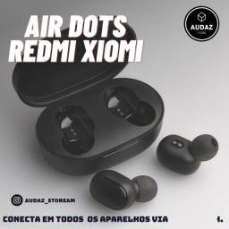 Air Dots Xiomi fones via bluetooth