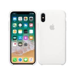 Capinha iPhone XR cor branca