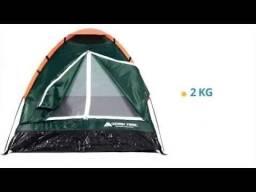 Barraca Camping 2 Pessoas Tenda Iglu Ozark Trail (usada)