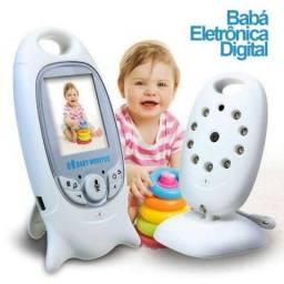 Babá Eletrônica Baby Monitor Câmera Sem Fio E Visão Noturna