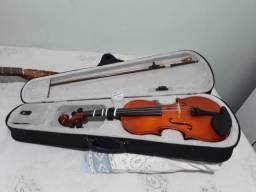 Violino concert 4/4 com capa