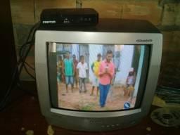 V/tv converso + antena