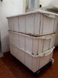 Composteira orgânica (minhocário)
