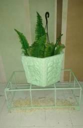 Vendo vaso de cimento para plantas vaso bem grande novinho