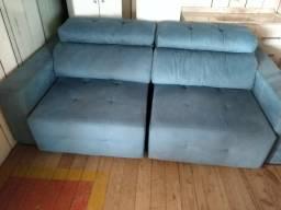 Sofá retrátil e reclinável novo 2,30mt