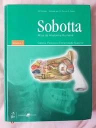 Livros SOBOTTA Anatomia volume 1 e 2