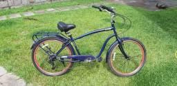 Bicicleta cruiser masculina