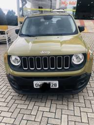 Jeep renegade 1.8 automático único dono - 2016