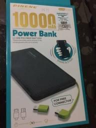 Carregador portátil de celulares power bank 10000