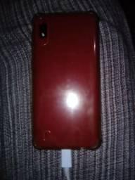 Vendo Samsung a10 vermelho 32gb com 2 anos de garantia