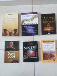Coleção maravilhosa de livros para auto ajuda e crescimento