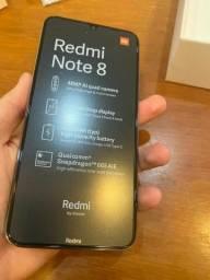 Redmi Note 8, 64gb, novo, lacrado