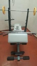 Equipamento de Musculação COMPLETO Polimet