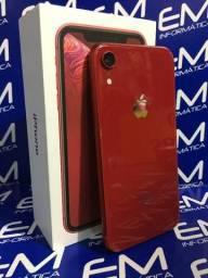 XR 64Gb Preto/Red - Seminovo -Aceito seu iphone na troca Loja Centro de Niterói