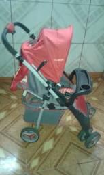 b5760e484 Vendo carrinho de bebê vermelho unissex