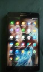Tablete Samsung A6 chip de qualquer operadora 4G e 24gb de memória