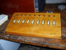 Mesa de Iluminação ou controle de liga e desliga