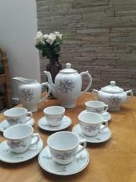 Conjunto café em porcelana