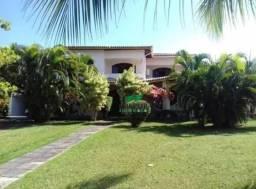 Casa com 5 dormitórios para alugar, 565 m² por r$ 8.000/mês - encontro das águas - lauro d