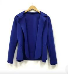 Blazer Feminino Azul Royal