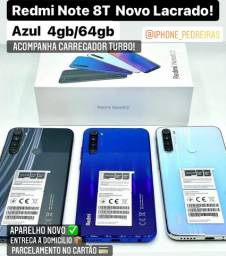 Xiaomi Redmi Note 8T 128gb Azul Novo Lacrado