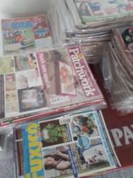Revistas diversos artesanatos 0.50 cada