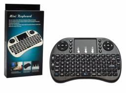 Mini Teclado sem Fio Wireless com Funcao Touchpad