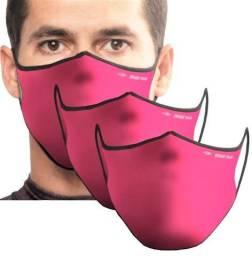 Mascara protecao facial neoprene dupla face lavavel mormaii