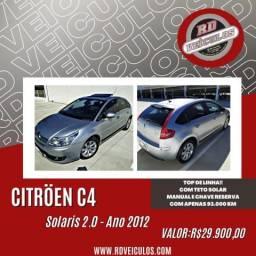 Citroën C4 Excl.2.0/2.0 Solaris Flex 16V 5p Aut. 2012 Flex