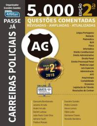 Livro 5.000 questões para Carreiras Policiais 2020