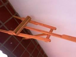 Cavalete / Suporte - Para pintura em madeira dobrável