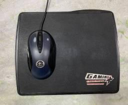 Mouse gamer e Mousepad